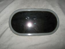 Large Oval Concave Caravan Towing Side Mountable Wide View Mirror