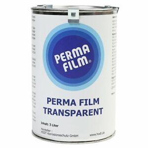 Fluid Film Perma Film transparent 3 Liter Hodt Rostschutz Unterbodenschutz