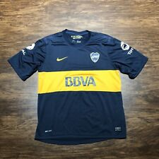 Boca Juniors Nike Player Issue Home Soccer Jersey Large
