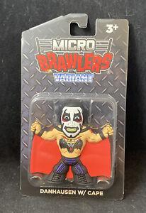 Pro Wrestling Tees Micro Brawlers Danhausen W/ Cape Variant ROH MIP Nice New