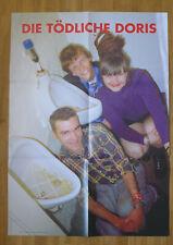 DIE TÖDLICHE DORIS PRESS PHOTO FOR JAPAN duchamp POSTER 1999 deadly todliche
