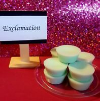 Exclamation scented wax melts