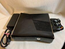 Microsoft Xbox 360 S Launch Edition 320GB Black Console (READ DESCRIPTION)