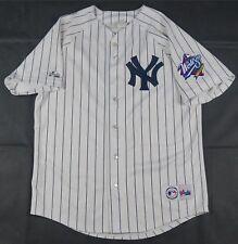 Rare Vintage MAJESTIC New York Yankees MLB No Name 1999 World Series Jersey  90s 10bebf9c8