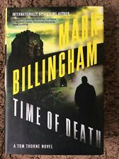 TIME OF DEATH - Mark Billingham (Hardcover, 2015, Free Postage)
