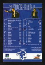 Seton Hall Pirates--2006-07 Basketball Magnet Schedule