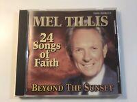 Mel Tillis Beyond the Sunset CD Gospel 24 Songs Of Faith How Great Thou Art