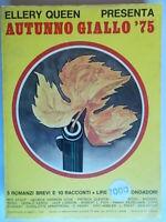 Ellery Queen presenta autunno giallo 75 Mondadori 1975 5 romanzi 10 racconti 95