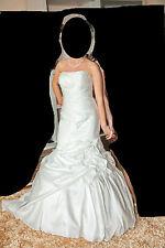 Designer Kleid Eddy K. Hochzeitskleid Brautkleid Meerjungfraukleid  NP 2200 Euro