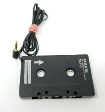 AIWA CAP-6 OEM Portable Car Audio Cassette Adapter iPod, MP3, Smartphones