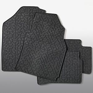 HYUNDAI I10 2014-2019 GENUINE RUBBER MAT SET FOR ALL WEATHERS -NEW B9131ADE10