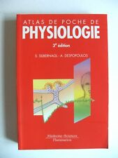 ATLAS DE POCHE DE PHYSIOLOGIE / 3e éd. / FLAMMARION / MÉDECINE-SCIENCES / 2004