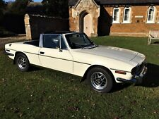 Triumph Stag Manual / Overdrive 1976 Immaculate Condition