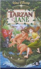 TARZAN & JANE  - VHS (ORIGINAL DISNEY CASE)