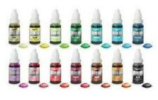 Rainbow Dust Colour Flo Liquid Food Colouring /Air Brush Paint Colour 16ml Cake