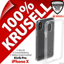 New Krusell Kivik Pro Cover Military Grade Protective 4H Case for Apple iPhone X