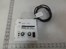 MEECH STATIC ELIMINATORS 970 PULSED DC CONTROLLER