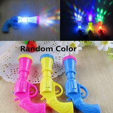 Gun Form LED Projektor Bunten Nachtlicht Lampe Kinder Spielzeug Zufall Farbe Neu