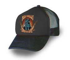 NED KELLY SOUVENIR/MEMORABILIA (AUSTRALIAN BUSH RANGER ) Trucker Cap/Hat