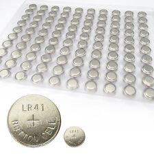 200 x AG3 1.55V Alkaline Button Cell Single Use Battery LR41 SR736 V36A SR41SW
