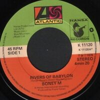 "BONEY M rivers of babylon  brown girl in the ring 7"" WS EX/ uk K11120 noc"