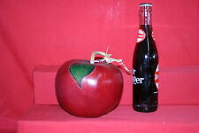 Gourd 1 Red Apple With Green Leaves Gourd (Dried & Cleaned)