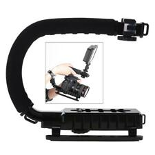 U/C Shaped Video Bracket Holder Handheld Stabilizer Grip for Canon DSLR Camera