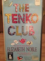 THE TENKO CLUB AUDIO BOOK CASSETTE TAPES BOX SET Ex Rental ELIZABETH NOBLE