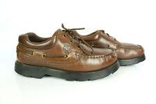 Chaussures Derbies AIGLE VINTAGE Cuir Marron T 42 / UK 8 BON ETAT