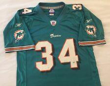 New listing Men's Reebok Ricky Williams Miami Dolphins Football Jersey Size Adult Medium NFL