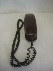 Vintage Western Electric AT&T Bell TRIMLINE Rare Classic Brown Retro Touch Phone