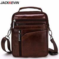 Cowhide leather men's travel business Messenger bag shoulder bag