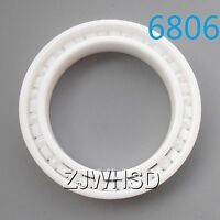 6806 Full Ceramic Zirconia Oxide Bearing ZrO2 30 x 42 x 7mm Self-lubricatin​g