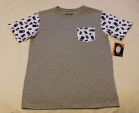 BBC Doctor Who Mens Tardis Grey White Printed Short Sleeve T Shirt Size M New