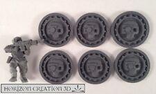 HC3D -Skulltech Coins 6 Pack-Building Bits-Terrain&Scenery-40k