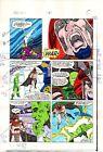 1984 Iron Man 181 page 6 original Marvel Comics color guide art: 1980's Mandarin