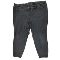 Torrid Denim Jegging Jeans Size 26S Short Black Crop Stretch Skinny Dark Wash 26