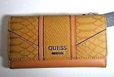 GUESS Society SLG Trifold Clutch Wallet New NWT Coal
