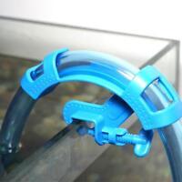 Aquarium Fish Tank Water Pipe Holder Hose Mount Clamp Clip Hanger