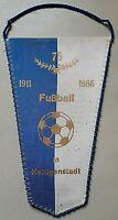 RAR Wimpel 75 Jahre Fussball Heiligenstadt Solidor DDR Ostalgie 1986 Erfurt 1.SC