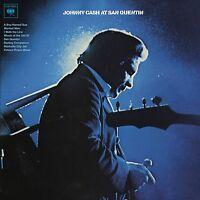 JOHNNY CASH - AT SAN QUENTIN  VINYL LP NEU