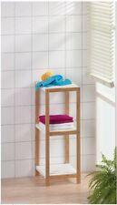 Weniger-als-40-cm Regale & Aufbewahrungen aus Bambus für Badezimmer