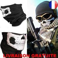 Cagoule Tête de Mort Masque Moto Biker Cache Nez Skull Face Tour De Cou Echarpe