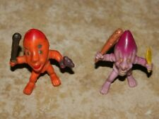 """ARCO 1982 The Other World JIP & MOG Vintage PVC Action Figure Mini 2"""" Monsters"""