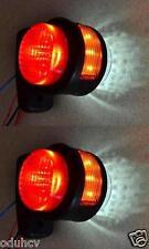 2x 11 LEDs SEITE HINTEN UMRISS 12V BEGRENZUNGSLEUCHTEN LKW-CHASSIS