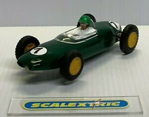 SCALEXTRIC Tri-ang Vintage 1960's C63 LOTUS 21 GP F1 #7 in GREEN (EXCELLENT)