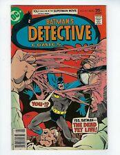 DETECTIVE COMICS # 471 (1st Modern App. Hugo Strange, AUG 1977), FN+