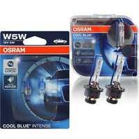 OSRAM SET 2x D2S+W5W COOL BLUE INTENSE 7RS
