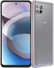 New listing Motorola One 5G Ace 2021 (Unlocked) 128Gb Memory - Frosted Silver-excellent