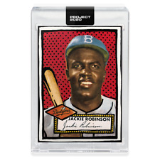 Topps PROJECT 2020 Card 98 - 1952 Jackie Robinson by Joshua Vides
